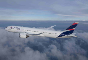 Avión LATAM 787-9 PAX
