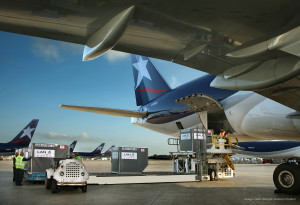 Cargo Aircraft and Container